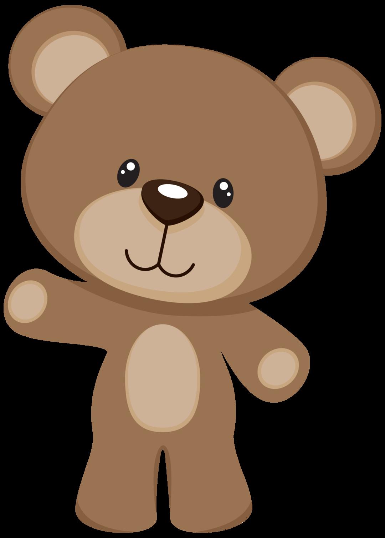 vector freeuse library Cute brown bear clipart.  shared exibir todas