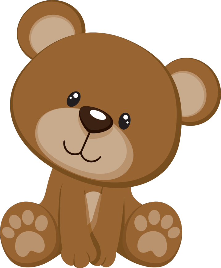 clipart stock Cute brown bear clipart. Baby png pesquisa google
