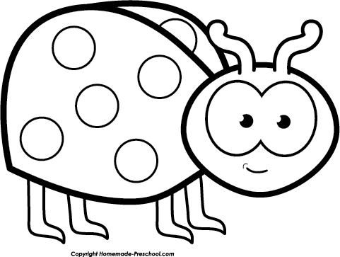 banner transparent download Cute bug clipart black and white.  collection of high