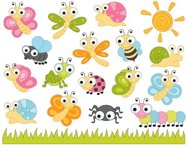png free Cute bugs clipart. Clip art insects ladybug