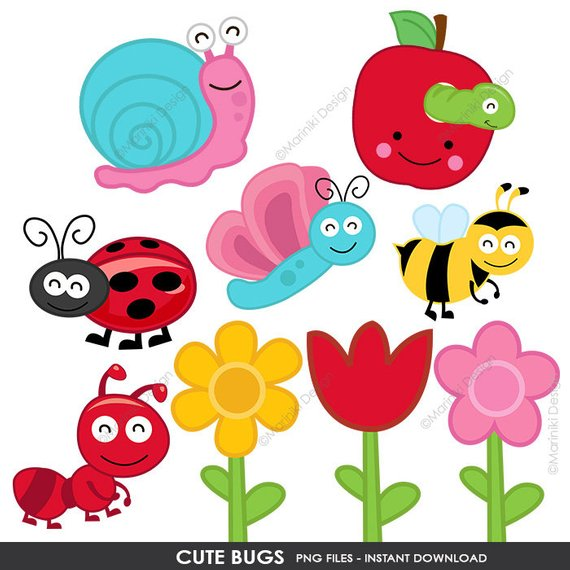 image library library Clip art bumble bee. Cute bugs clipart.