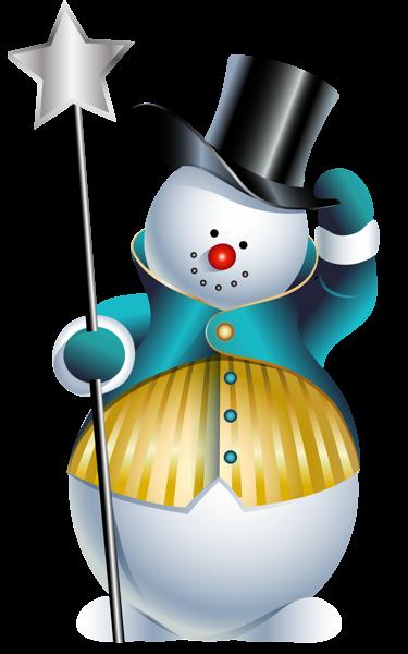 picture transparent Cute Snowman PNG Clipart Picture