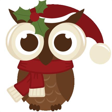 clip art download cute christmas owl clipart #61026634