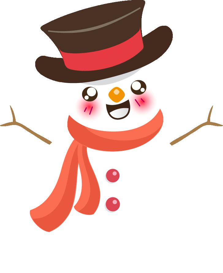 png library stock snowmen clipart kawaii #83606938
