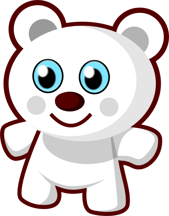 graphic royalty free library Clip art panda free. Cute animal clipart