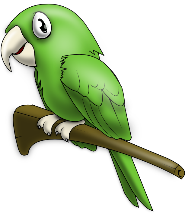 graphic freeuse stock Loro png iilustrations pinterest. Mexican clipart parrot.