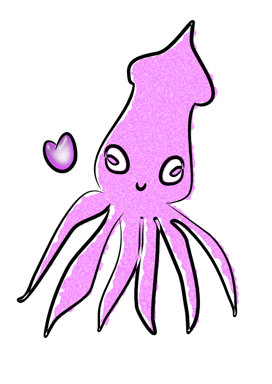 png Panda free images squidclipart. Cute clipart squid