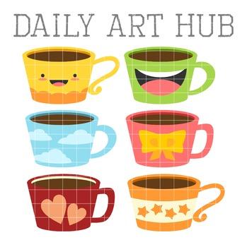 clipart royalty free Cute coffee mug clipart. Mugs clip art great