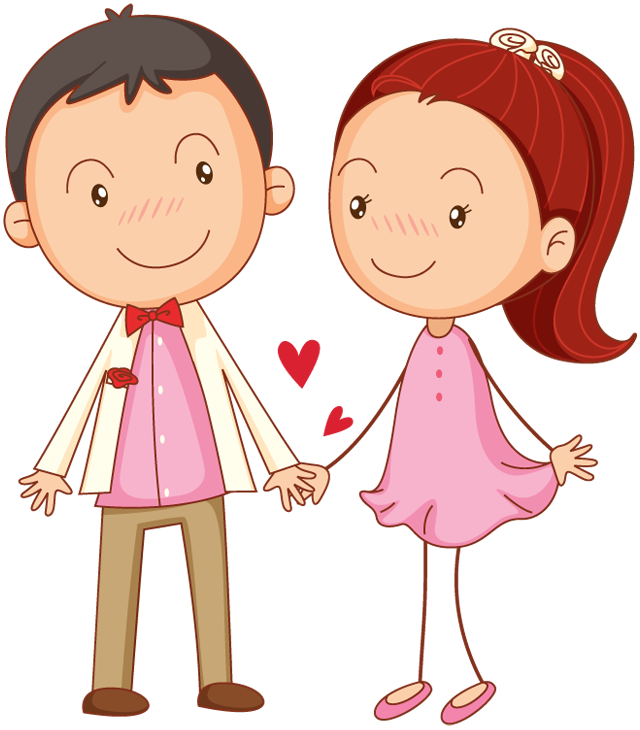 png library download cute couple clipart #61686060