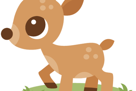 svg transparent library Cute deer clipart. Download wallpaper full wallpapers