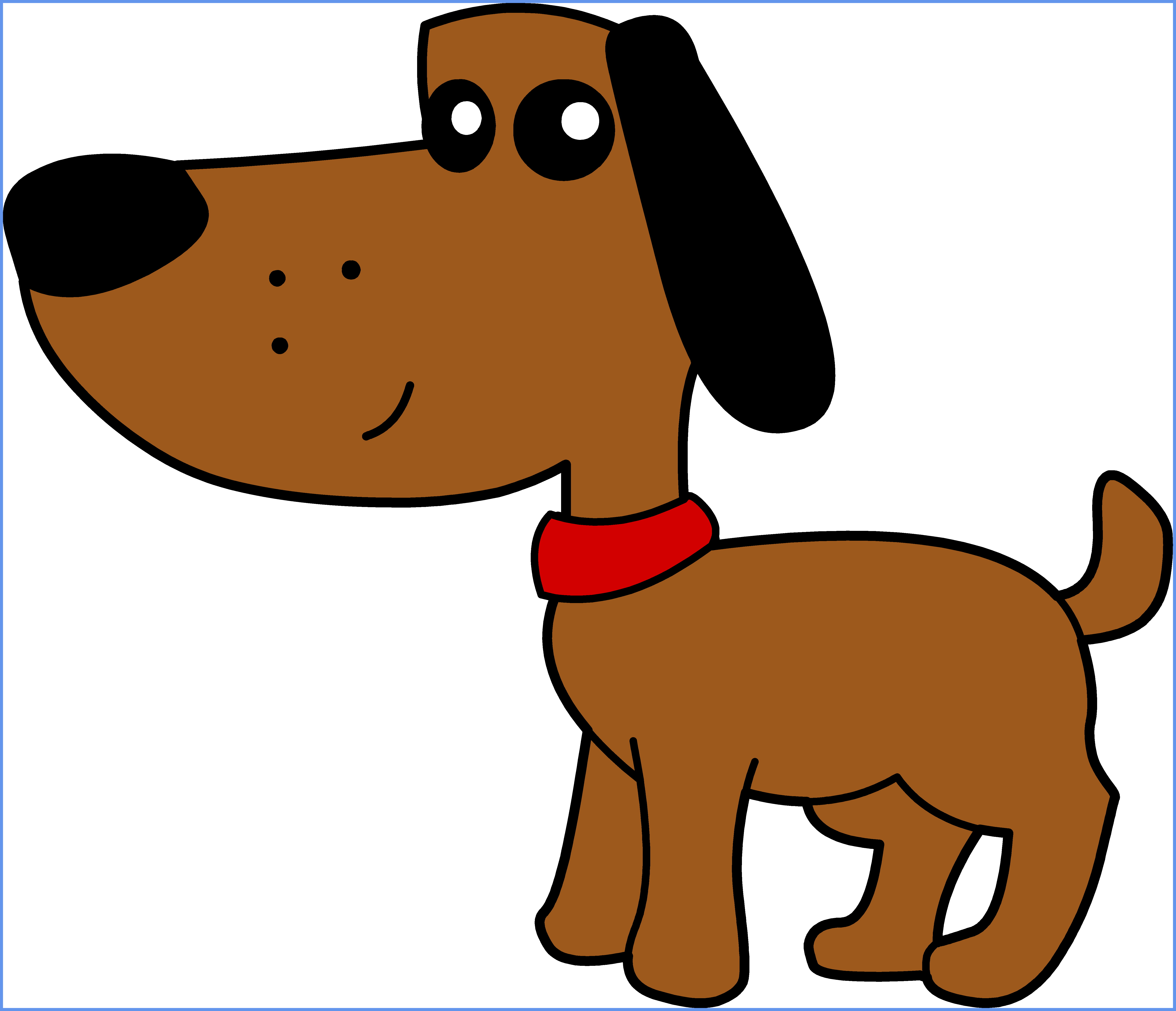 clip library library Clipart Cute Dogs at GetDrawings