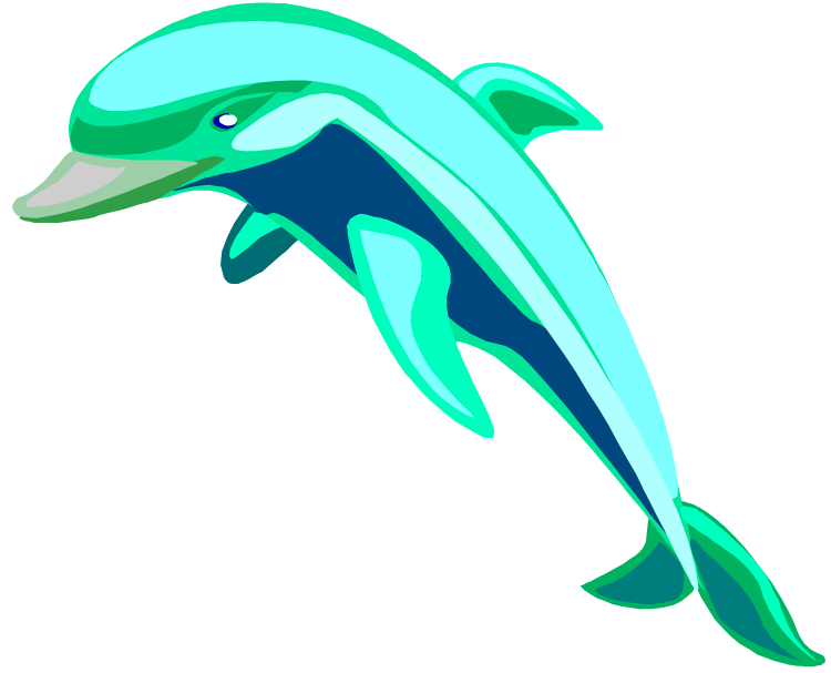 banner Bottlenose Dolphin Clipart at GetDrawings