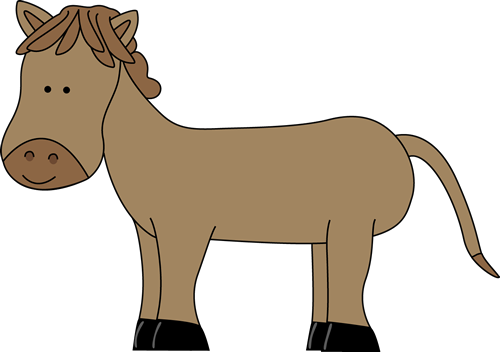 image freeuse download Cute Horse Clipart