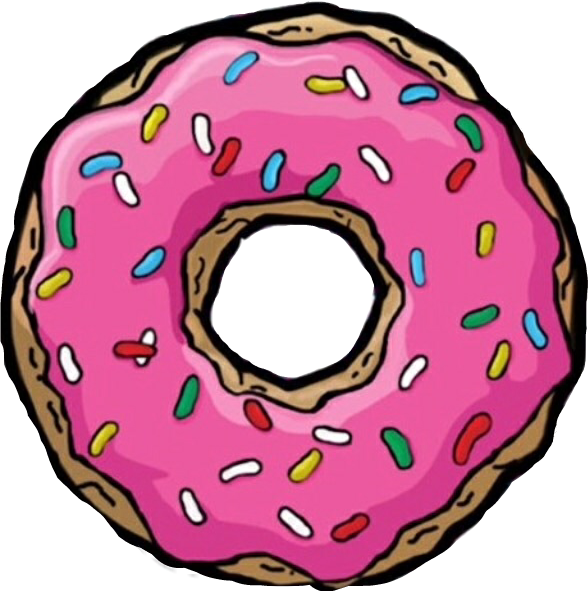 png free overlays tumblr icon cute donut