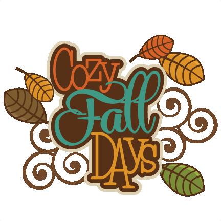 clipart free download Cute Fall Clip Art
