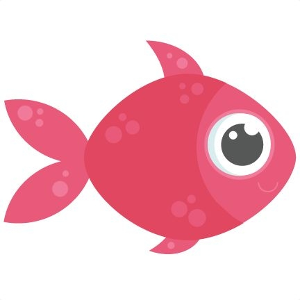 svg royalty free library Cute fish clipart. Wikiclipart