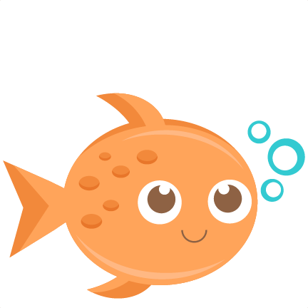 svg stock Cute fish clipart.  collection of png