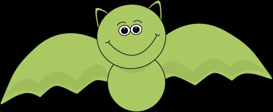 picture freeuse Green Halloween Bat Clip Art