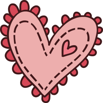 image library stock Cute Cartoon Hearts Clipart