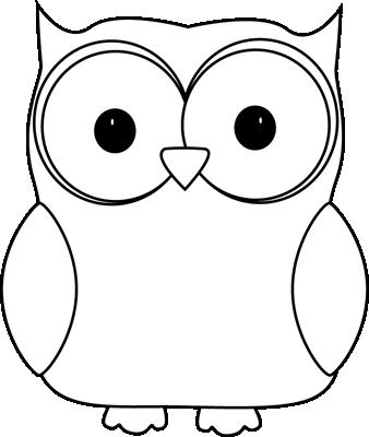 jpg freeuse stock Black and White Owl Clip Art