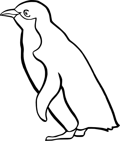 graphic transparent download Drawing penguin realistic. Outline tier brianhenry co