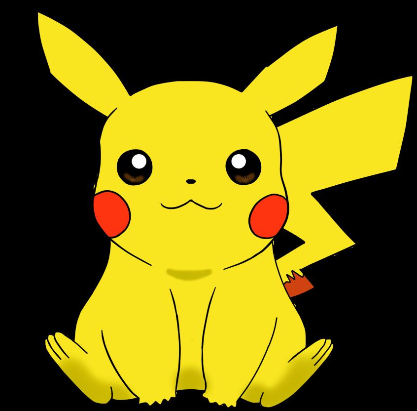 clip art freeuse library Cute Pikachu Clipart