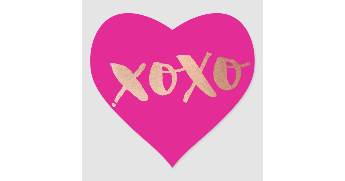 graphic freeuse download Love xoxo modern rose. Cute pink heart