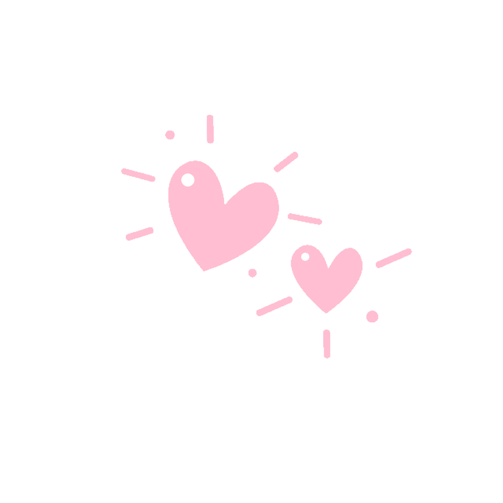 vector free stock . Cute pink heart