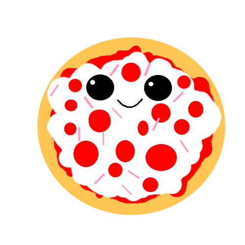 image black and white stock pizza transparent kawaii