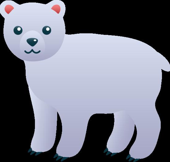 clipart free Clip art free. Cute polar bear clipart