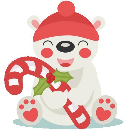 vector black and white download Cute polar bear clipart. Christmas svg scrapbook cut