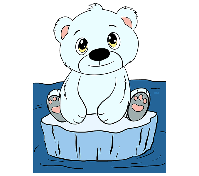 clip library library Cute Polar Bear Clipart at GetDrawings
