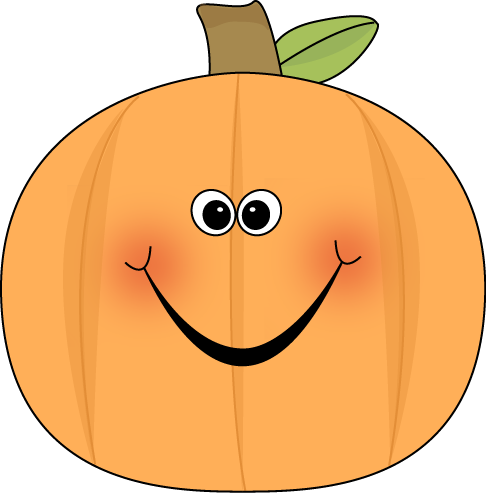 svg freeuse download Cute Pumpkin Clipart