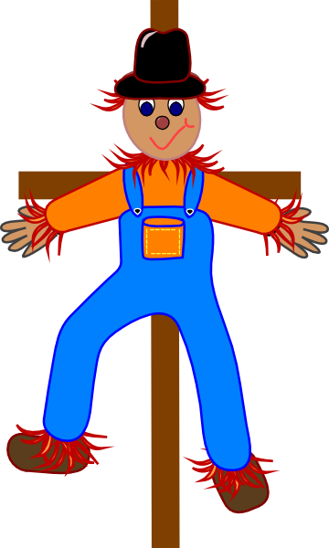 clipart freeuse library Arcade clipart carnival person. Free scarecrow at getdrawings