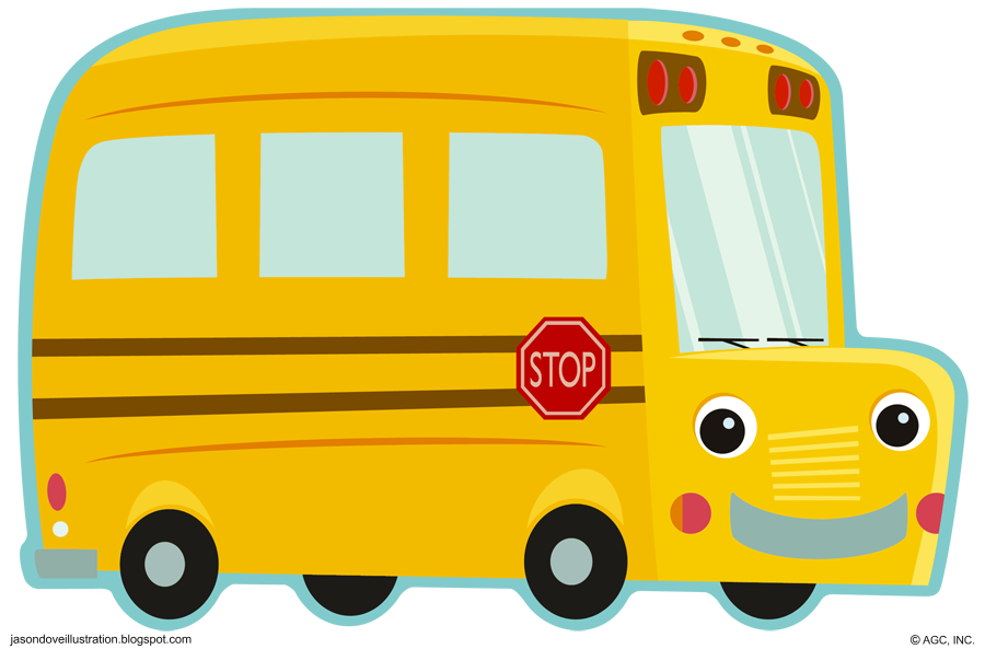 image library download Bus Clipart Cute