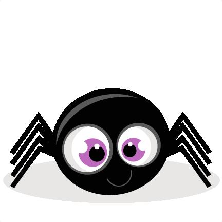 clip art black and white spider clip cute #115810449