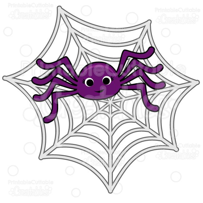 jpg download Cute spider web clipart. In spiderweb svg cut