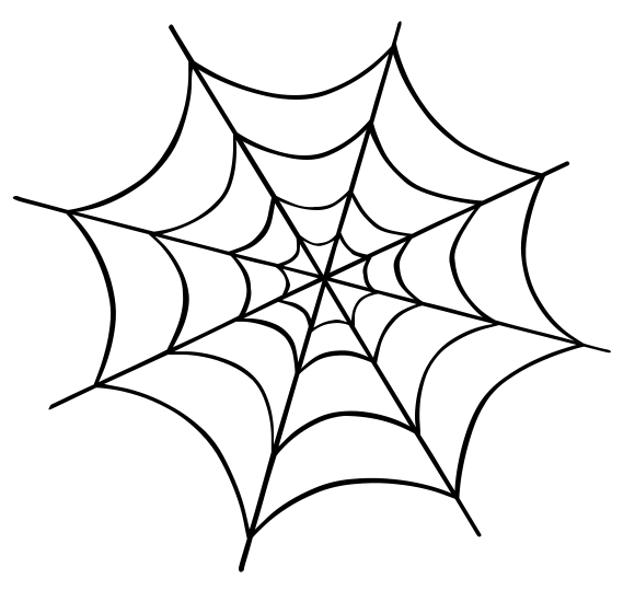 banner freeuse download Free spider web clipart. Halloween spiders cute