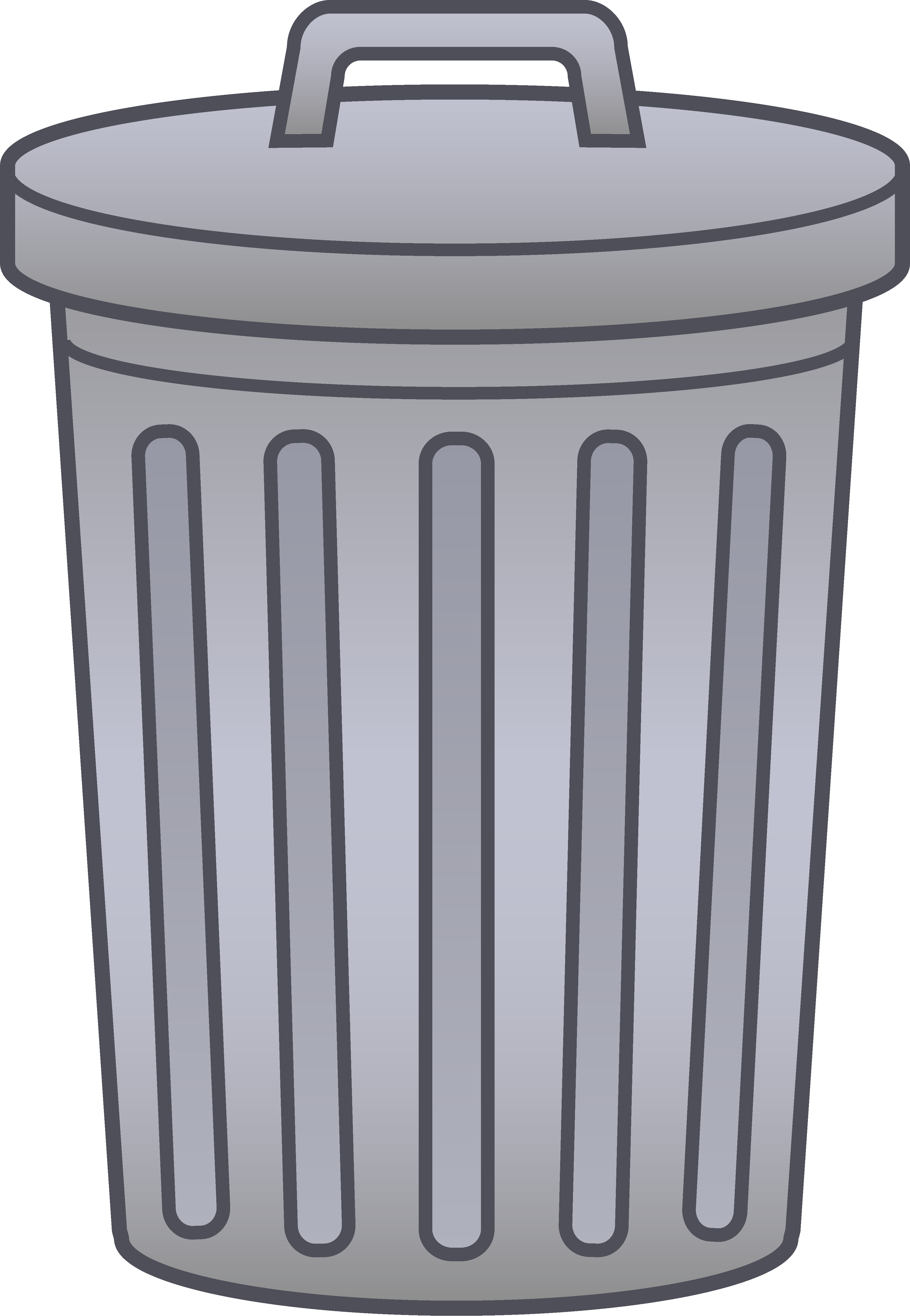 image royalty free download Garbage Can Clipart