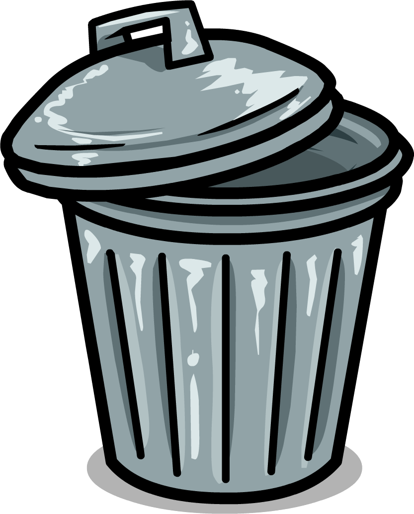 banner library Trashcan clipart cartoon. Backgrounds wallpapers selection by.
