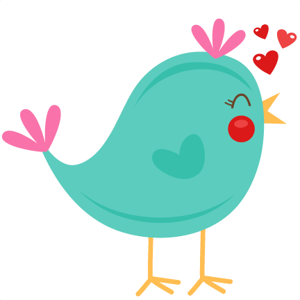png royalty free library Cute birds clipart. Valentine monkey at getdrawings