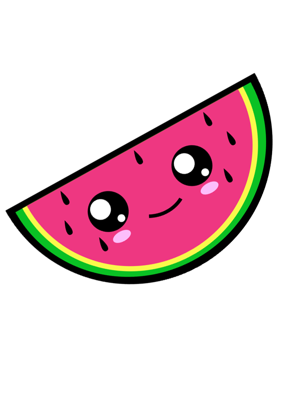 clip art free Vector dental kawaii. Watermelon illustration allezleon com