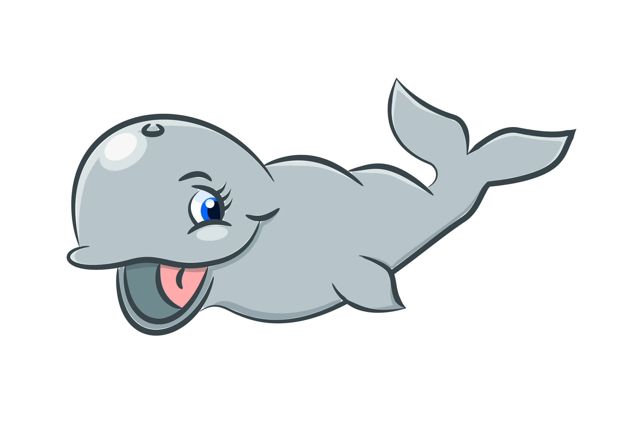 black and white library Cute whale clipart. Big image png
