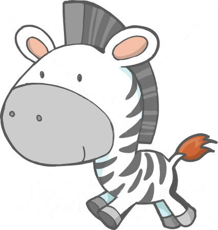 graphic freeuse Free pictures download clip. Cute zebra clipart.