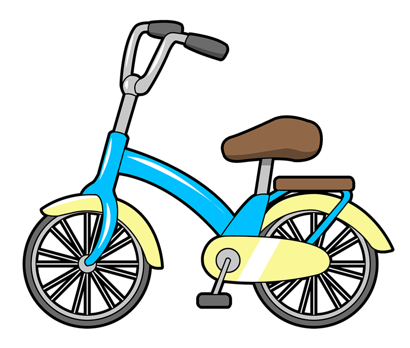 clip freeuse library Bike clipart. Bicycle cartoon