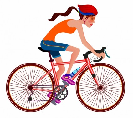 picture free library Cycling clipart. Free cliparts download clip