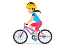 banner Sports free bicycle to. Cycling clipart