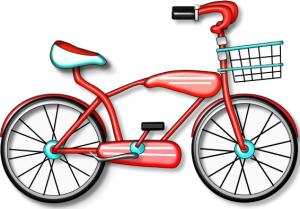 jpg black and white download Cycling Clipart beach bike