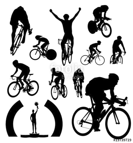 png royalty free library Cyclists stock image and. Cyclist vector