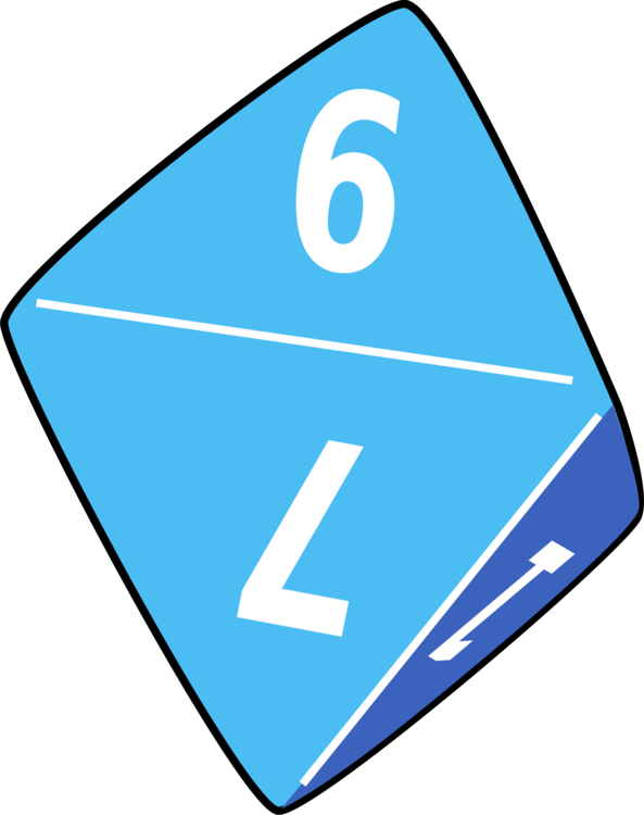 vector transparent library Dice Four